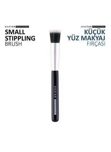 Silstar Small Stippling - Küçük Yüz Makyaj Fırçası Renksiz